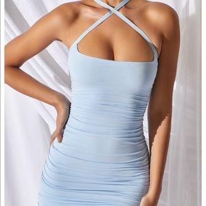 Oh Polly Blue Mini Dress